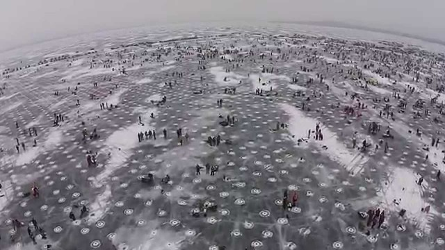 Largest Ice fishing contest in the world