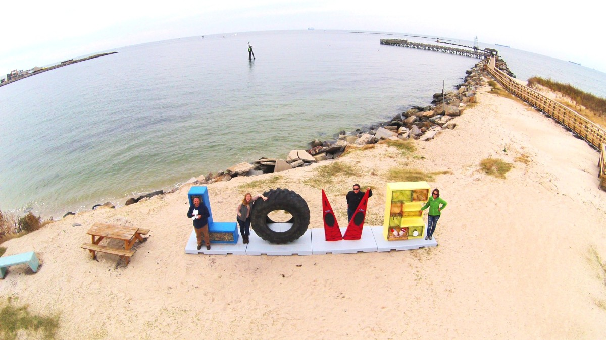 """LOVE"" Cape Charles on the Eastern Shore of Virginia!"