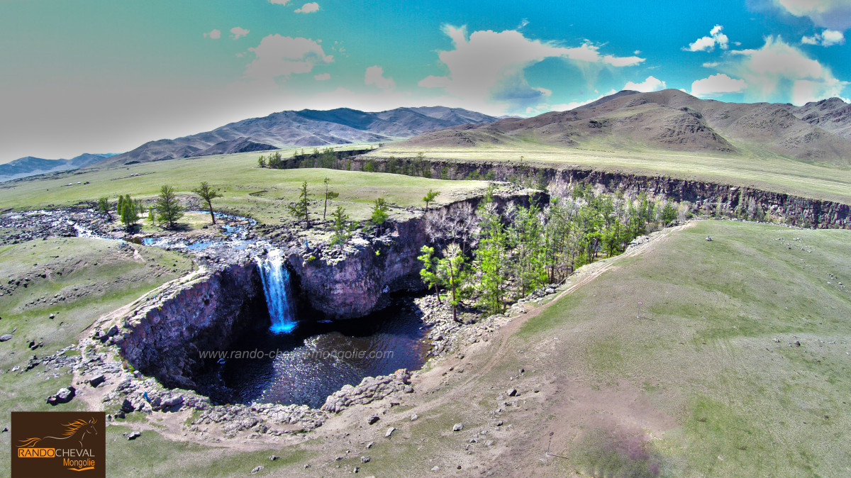Orkhon Waterfalls, Mongolia