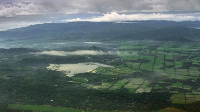 Rawa Jombor, Klaten, Jawa Tengah, Indonesia