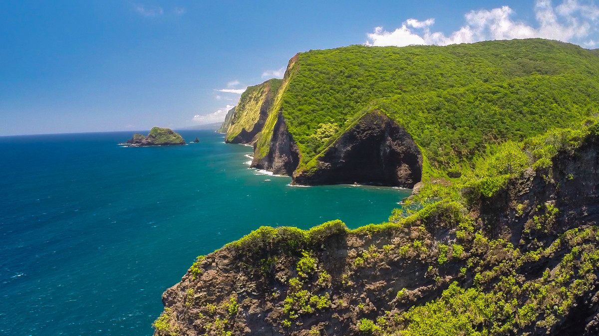 hamakua coast big island hawaii dronestagram