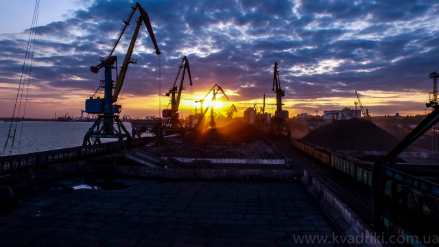 Nikolayev Commercial Sea Port, Nikolaev, Ukraine