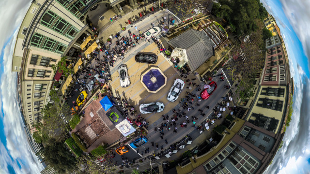 100|OCT Cars and Croissants held on Santana Row in San Jose California.