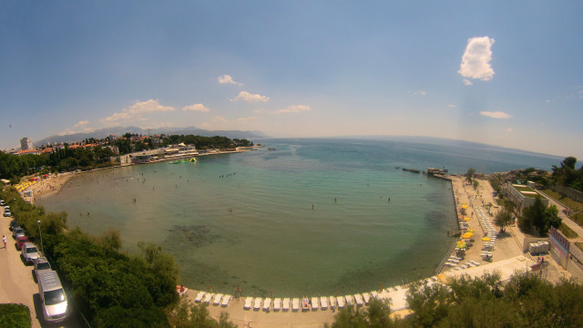 Bačvice Beach, Split, Croatia
