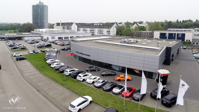 Porsche Zentrum Aachen Germany 04/2014