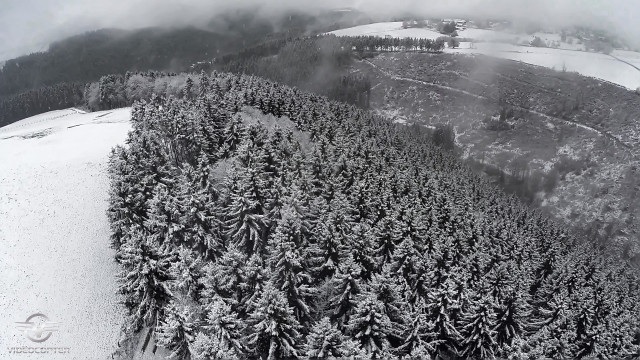 First snow in Eifel Germany from 12/2014