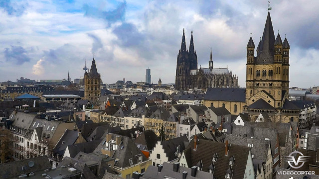 Cologne / Köln from adove 12/2014