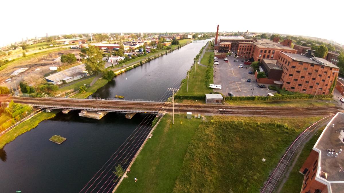 Canal Lachine, Montréal, Qc, Canada