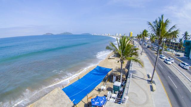 Malecon, Mazatlan, Sinaloa, Mexico