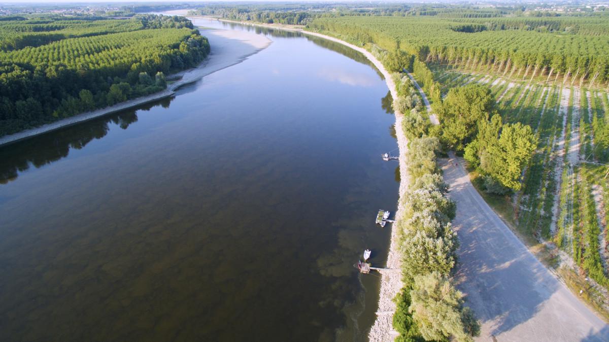 PO River, Gualtieri RE, Italy
