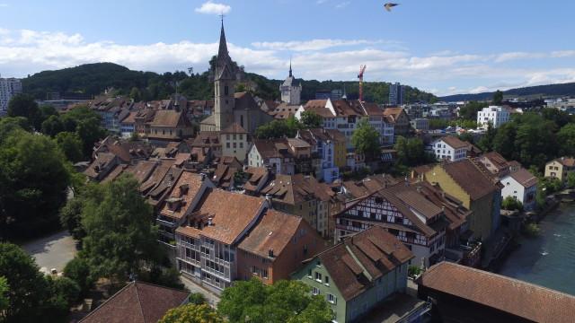 Baden Altstadt, Switzerland