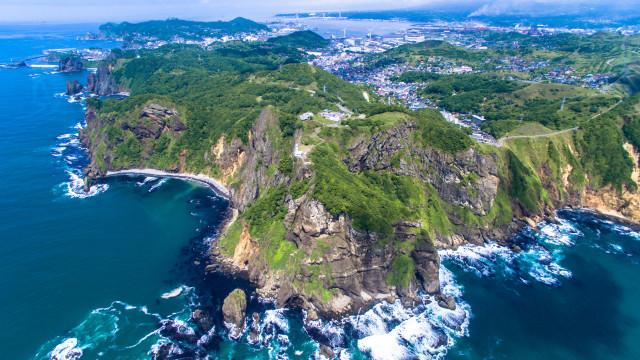 Chikyu-cape,Muroran,Hokkaido,Japan