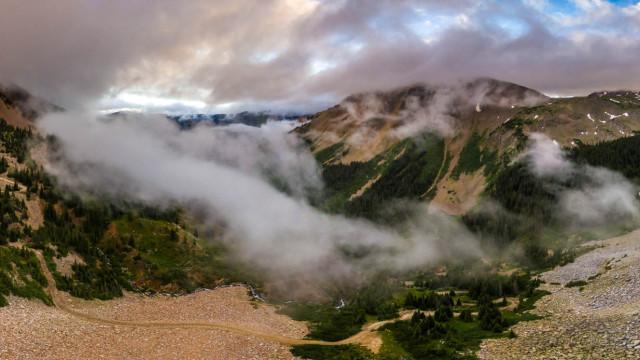 Montezuma Basin and Pearl Pass