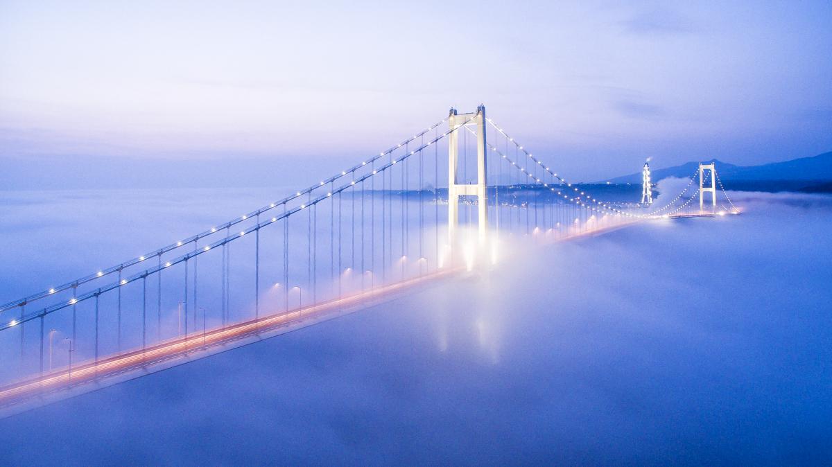 SWAN BRIDGE,Muroran,Hokkaido,JAPAN