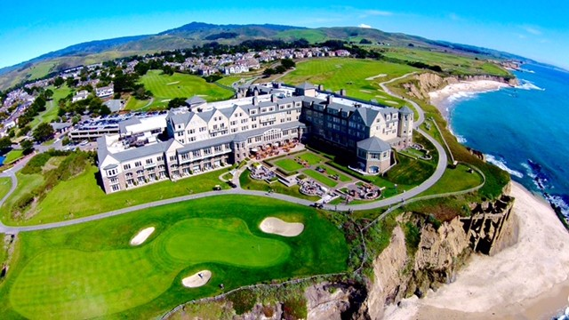 Ritz Carlton, Half Moon Bay, California, USA