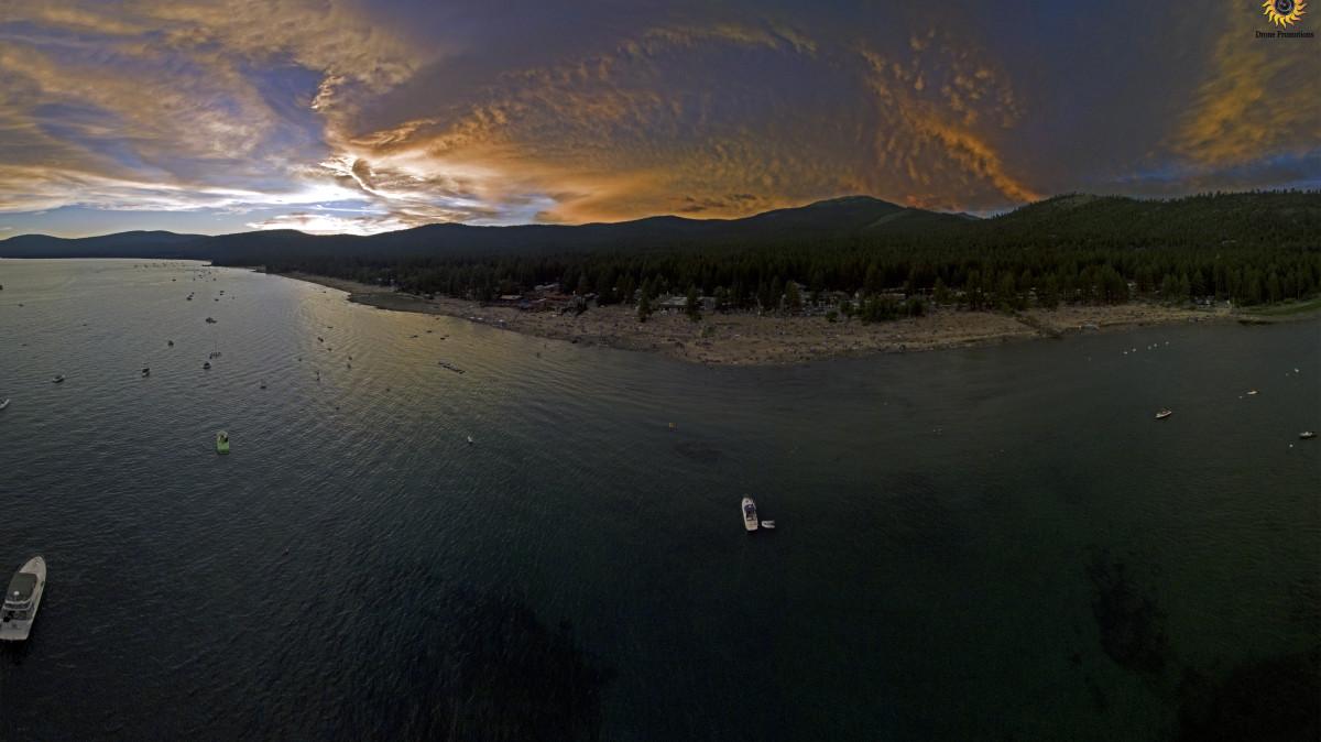 Kings Beach, Lake Tahoe, California, USA