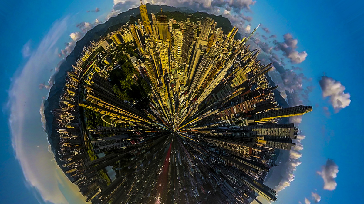 Taipei – Over the roofs of Taipei