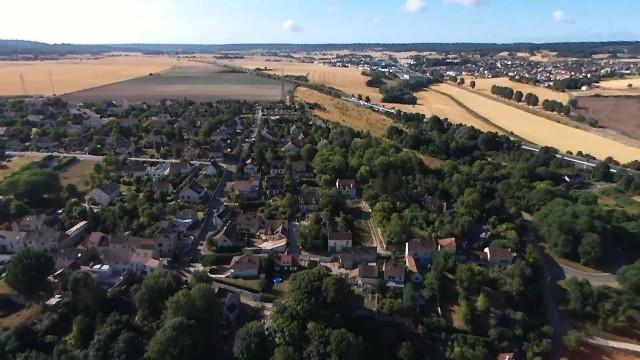 Chapet vu des Champs, Chapet, Yvelines France