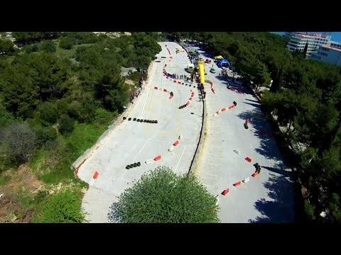 Croatian car race championship, Trogir, Dalmatia, Croatia