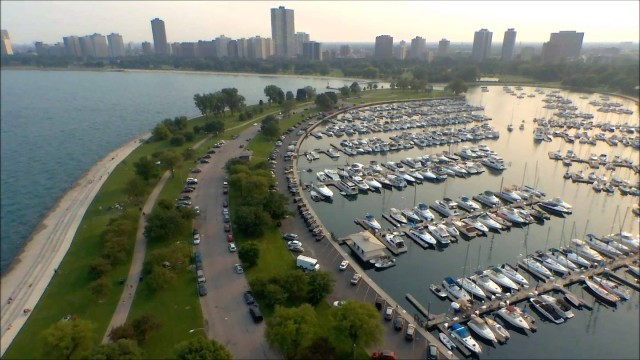 Montrose Harbor, Chicago, Illinois