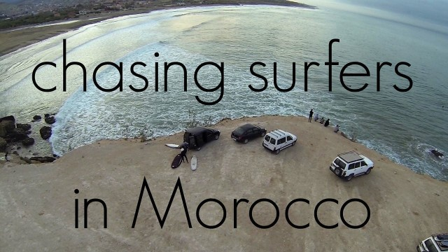 Chasing Surfers in Morocco at Banana Beach