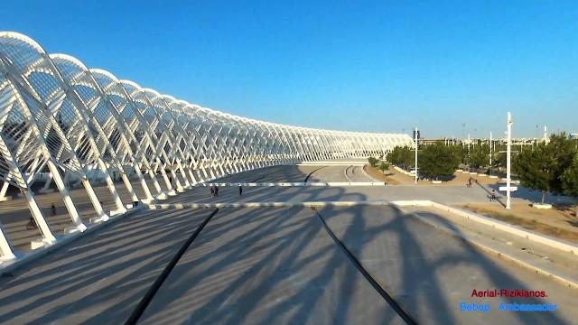 Olympic Stadium of Athens-Aerial Rizikianos.(Bebop Ambassador)