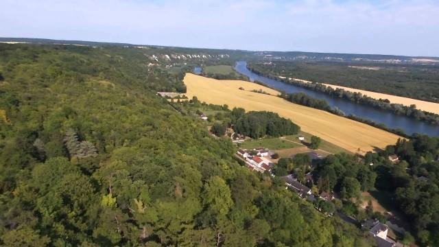 Route des crêtes, La roche Guyon, Val d'Oise, France