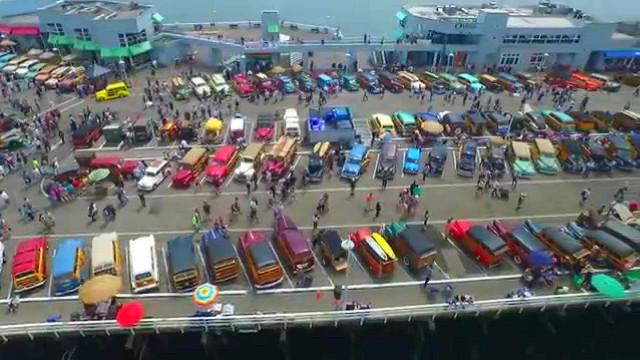 Santa Cruz Wharf, Santa Cruz, California, USA