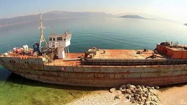 Shipwreck,  Slatine, Dalmatia, Croatia