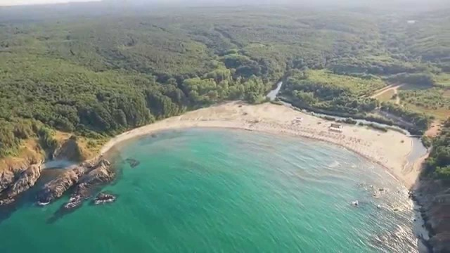 The distant beaches of Sinemorets, Bulgaria