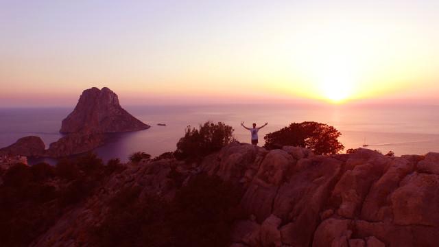 Ibiza – Drone Selfie – Spain