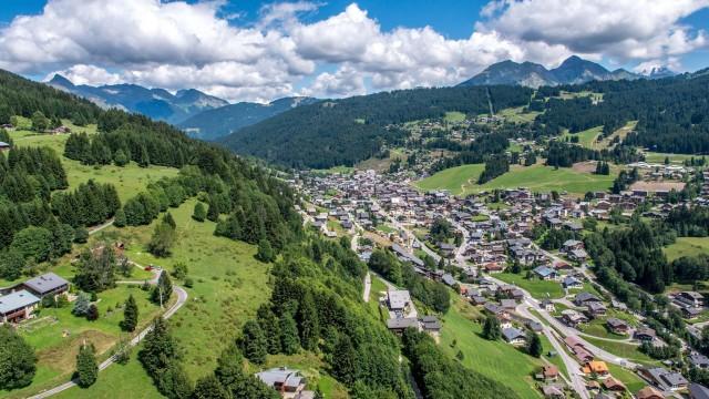 Station de ski des Gets, Savoie, France