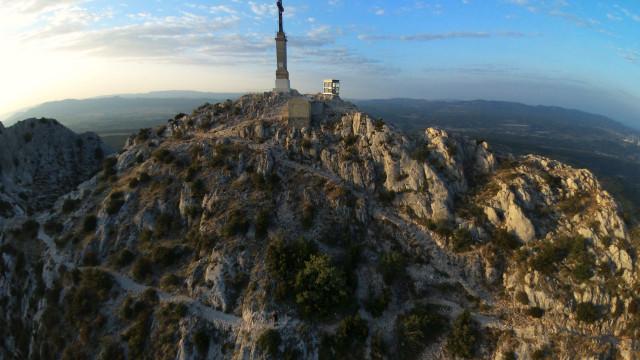 Montagne Sainte Victoire, Aix en Provence, France