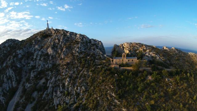 Paul Cezanne mountain, Montagne Sainte Victoire, Aix en Provence, France