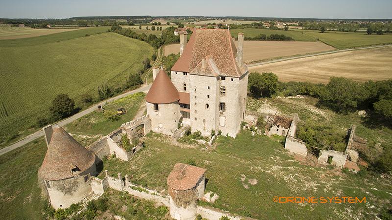 Chateau De Fourchaud  Allier  03   Auvergne  France