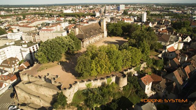 Place piquant, Montluçon, Allier, Auvergne, France