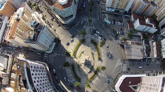 Independência Square, Gonzaga, Santos SP, Brazil