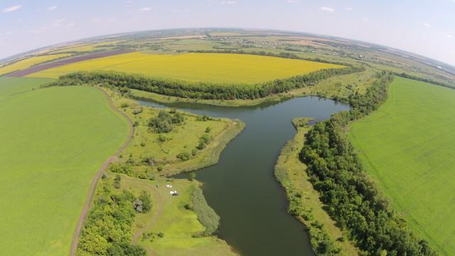 Berezoviy lake, Tambov Region, Russia