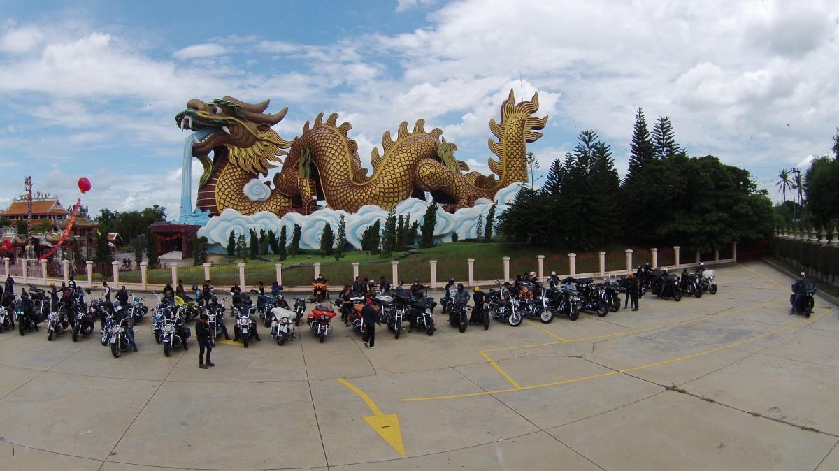 Chao Por Lak Muang Suphan Shrine  Dronestagram
