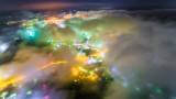 Muroran,Hokkaido,Japan,Fog
