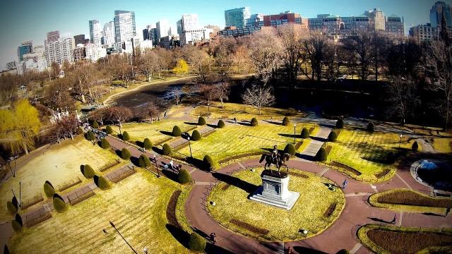 George Washington Statue at the Boston Public garden Boston, MA 02116 United States