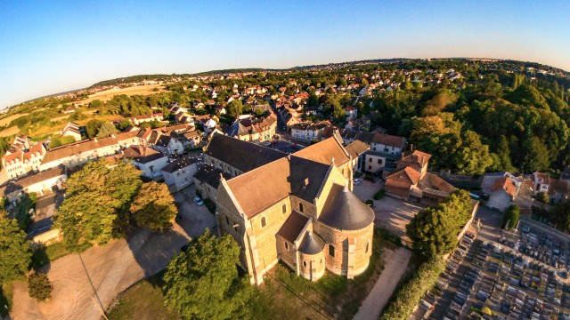 France – Longpont sur Orge – Basilique Notre Dame