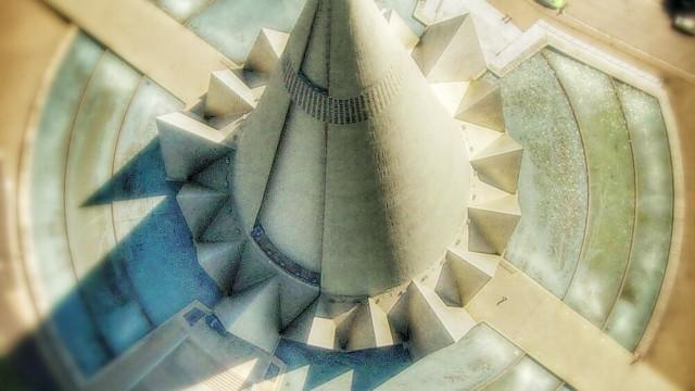 Photo-Painting Cathedral, Maringá, Paraná, Brazil