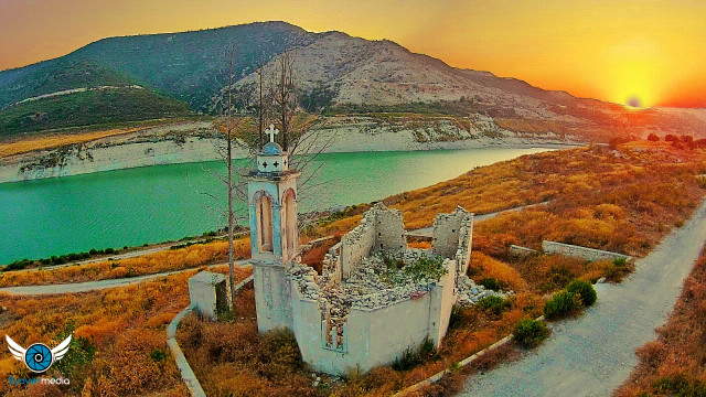 St. Nicholas Church Kouris Dam Cyprus