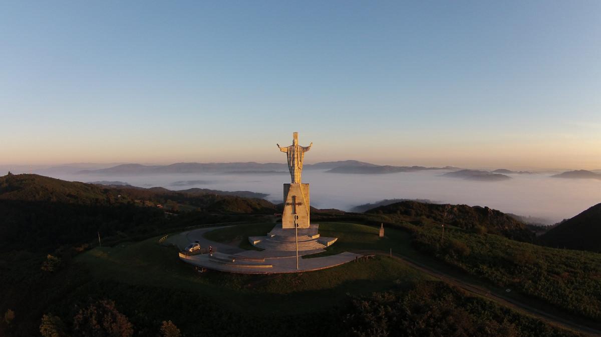Monte Naranco, Oviedo, Asturias, Spain