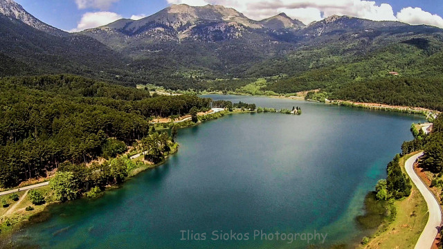 doxa lake,greece