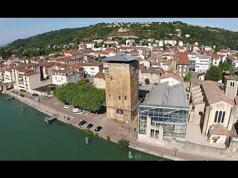 Drone et Tour des Valois – Sainte Colombe – Rhone – France