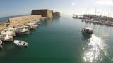 Venetian fortress Koules in Heraklion Port Crete.