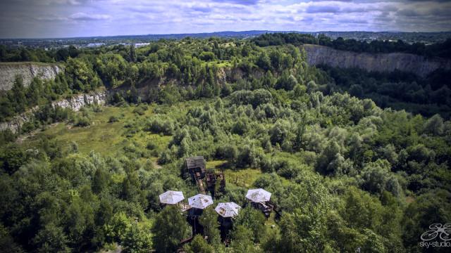 Old quarry, Kraków, Poland