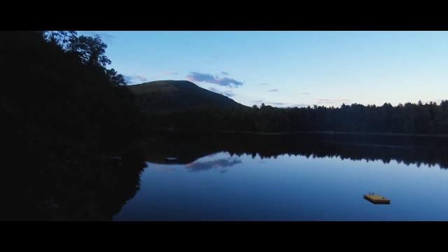 Long Pond, Maine, USA